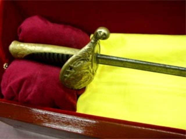 Robo de la espada de Bolivar y toma de la Quinta de San Pedro Alejandrino
