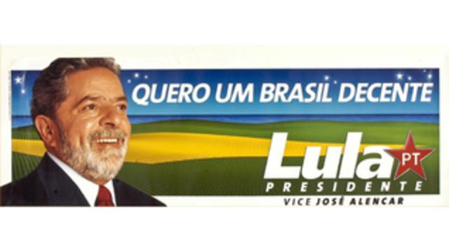 2002 - Depois de muita insistência, Lula ganhou