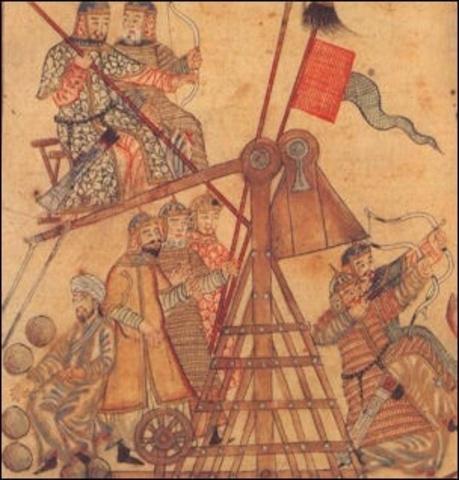 The Mongol empire technology
