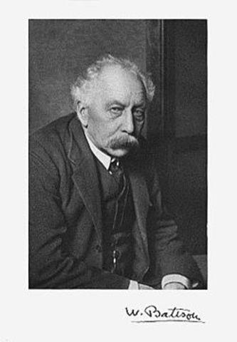 Walter Sutton Primero en Usar el  Concepto de Genética.