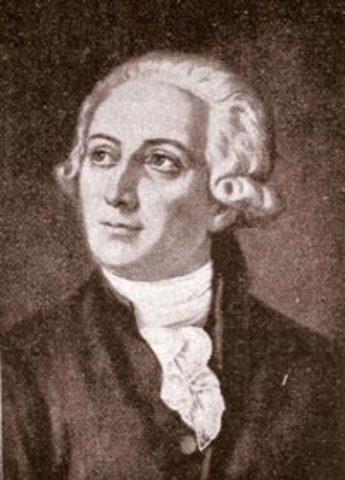 El químico francés Antoine Laurent Lavoisier