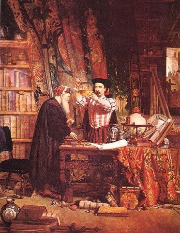 Nicolás Flamel y la transmutación.
