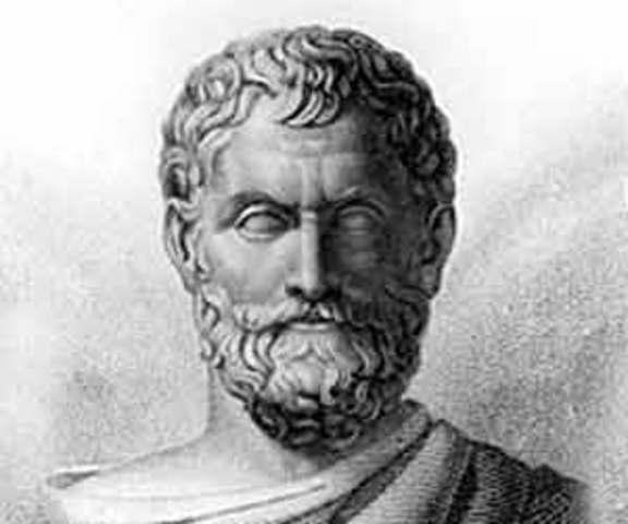 Tales de Mileto y el agua como elemento.