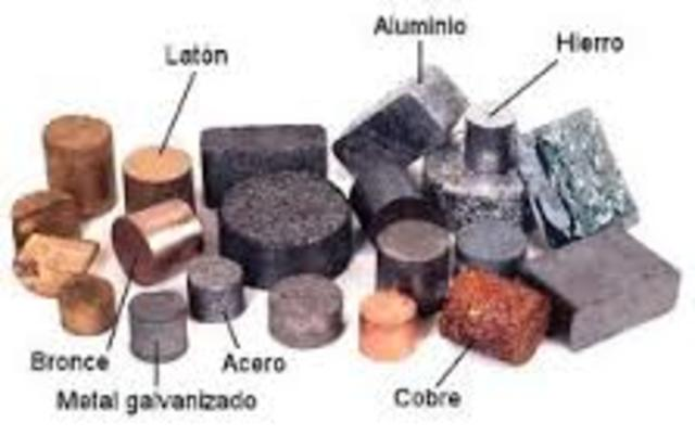 Se descubren las propiedades del metal.