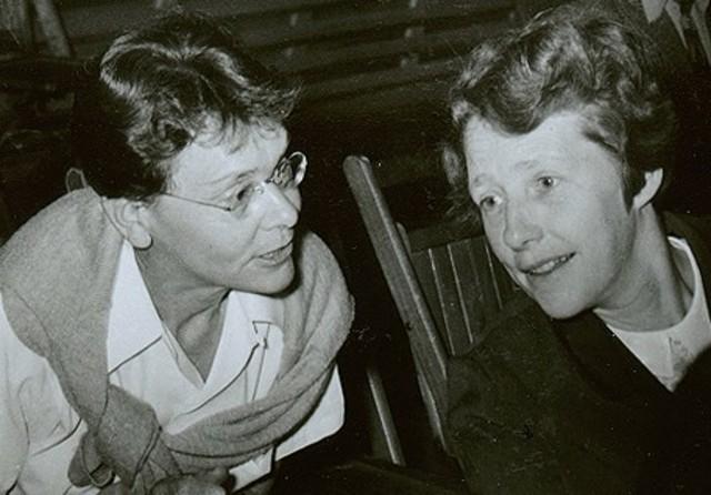 Harriet Creighton y Barbara McClintock