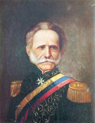 Tomas Ciprina de Mosquera Es presidente