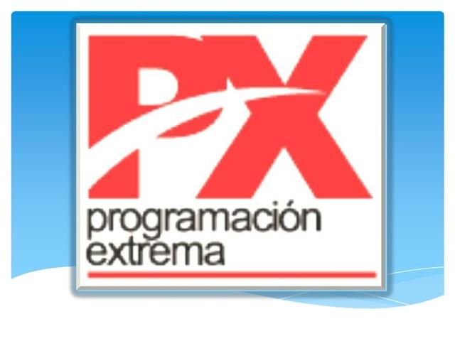 Programación Extrema (PX)