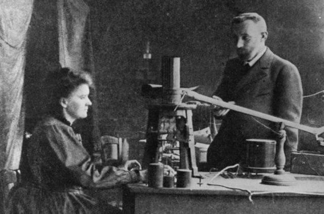 Marie Curie, el Radio y el Polonio