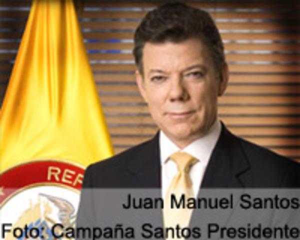 Juan Manuel Santos es Presidente