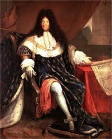 Muerte de Luis XIV