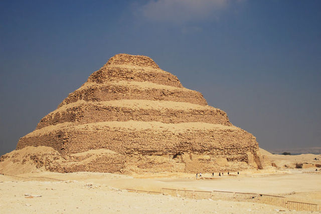First Pyramid, step Pyramid of Djoser constructed.
