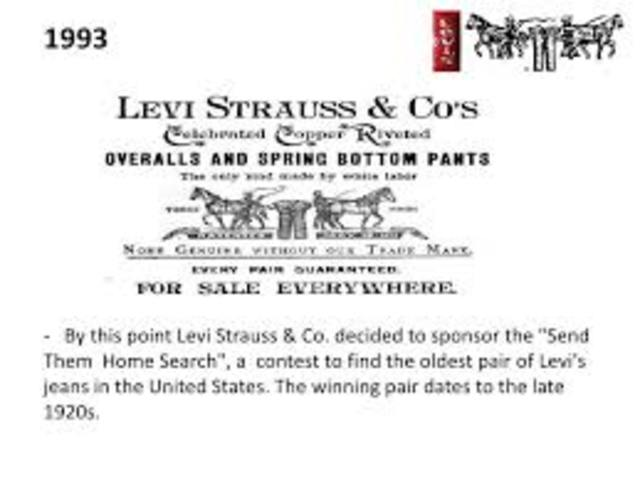 Levi Strauss adds back pockets