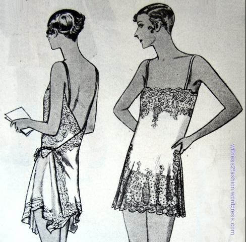 closed-crotch underwear in fashion