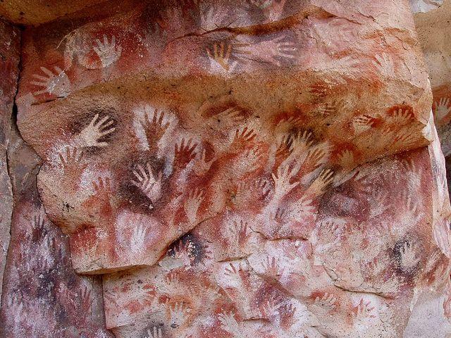 cueva de las manos (hace 900 años)