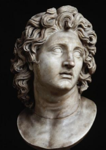 Alexander the Great begins his reign