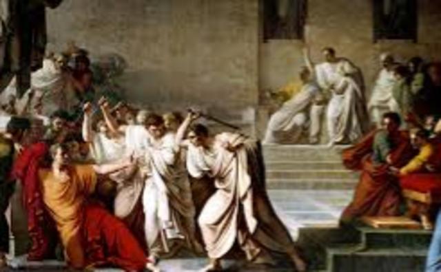 Death of Julius Caesar