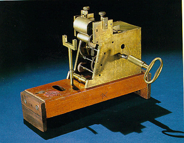 First Electrical Telegraph