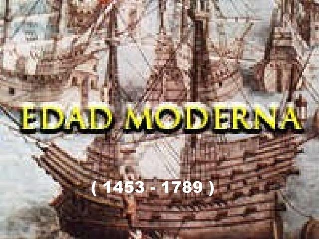 Época Moderna
