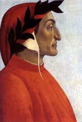 Dante Alighieri (Junio1,1261 - Septiembre 14, 1321)