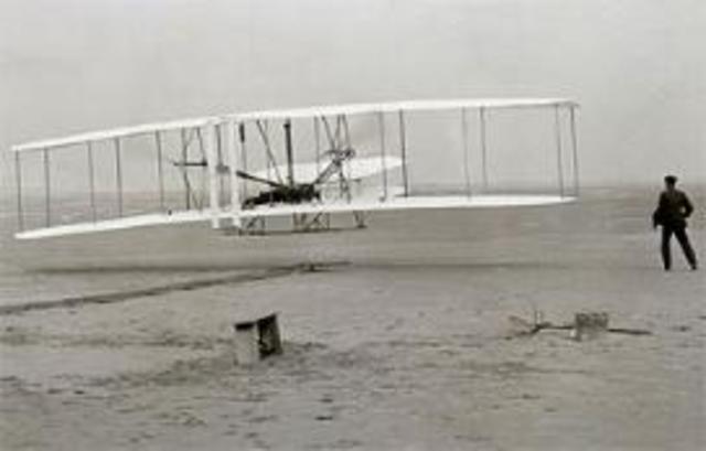 1903, los hermanos Wright