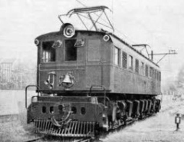 El tren eléctrico 1879