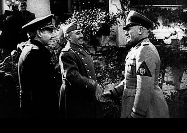 Italy's secret treaty with Spain
