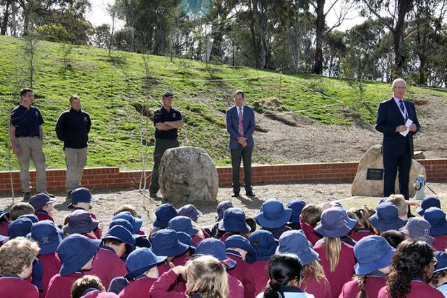 Opening of Junior School Top Oval