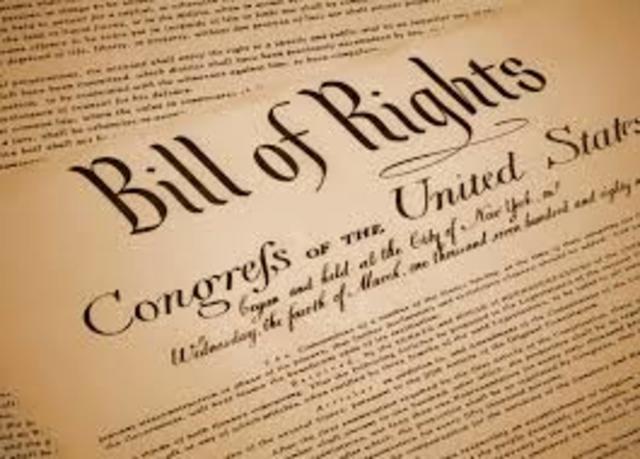 Bill of Rights - 1689
