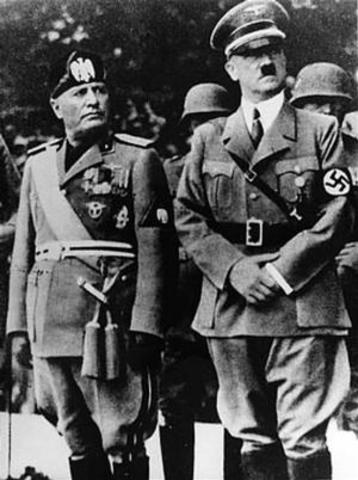 Italy summons to World War 2