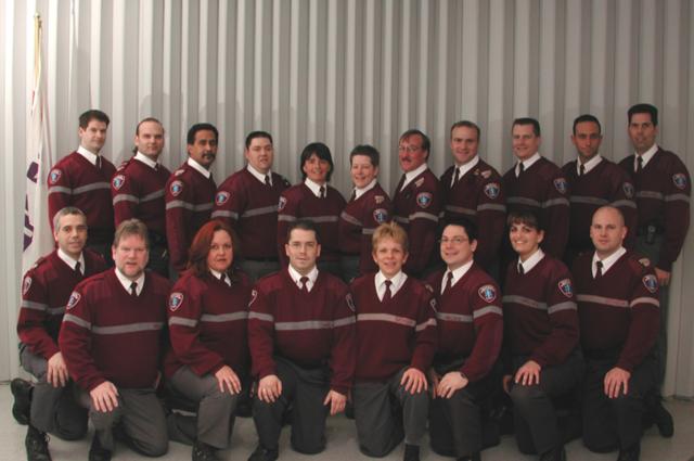 Début de la formation de la première cohorte de 18 Techniciens ambulanciers soins avancés
