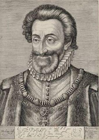 Enrique IV - 1598