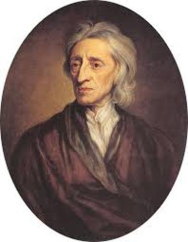 John Locke - 1689