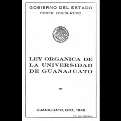 1948 Nueva Ley Orgánica de la Universidad