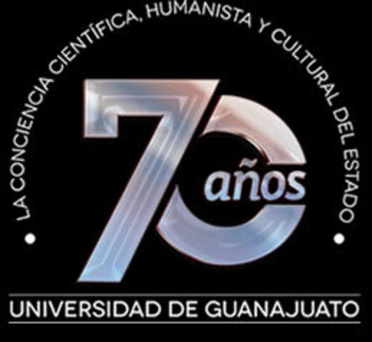 2015 70 aniversario de la Universidad de Guanajuato