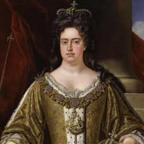 Muerte de la reina Ana de Inglaterra, última Estuardo