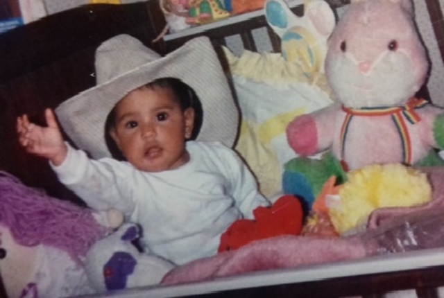 Yo cuando tenia 8 meses.