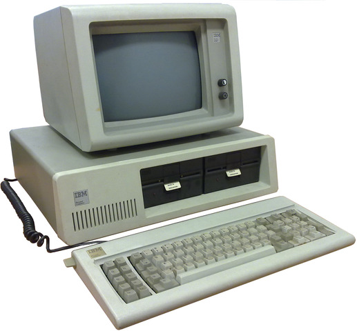 The first IBM personal computer