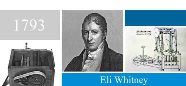 Eli Whitney.