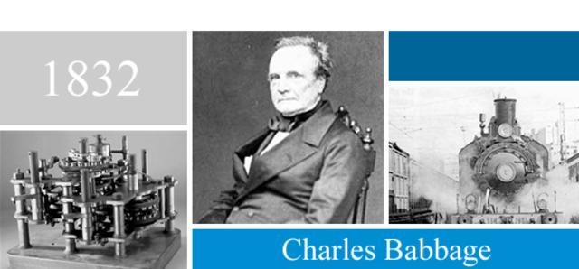 Charles Babbage.