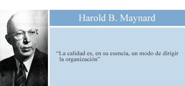 H.B. Maynard-Ingeniería de métodos