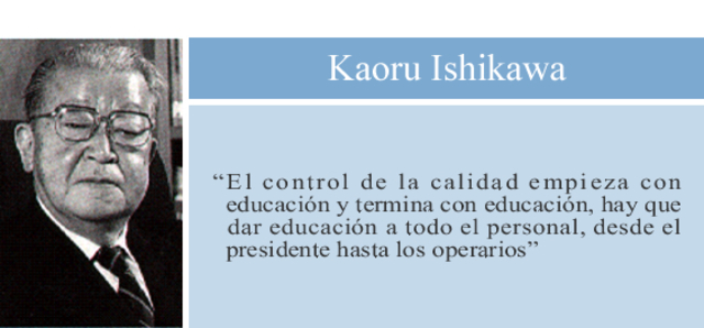 Kaoru Ishikawa-Diagrama causa-efecto