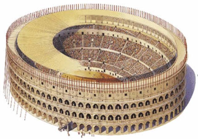 Creación del Coliseo Romano