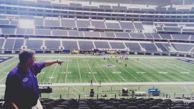 Inside Dallas Cowboy Stadium