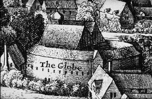 Shakespear's Globe Theater Built