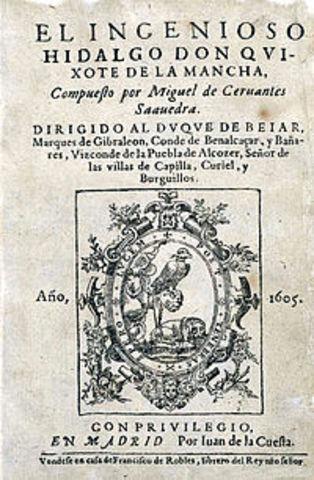 Don Quixote is written