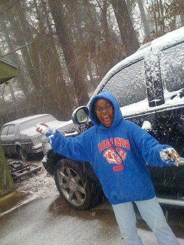 Snow Day In Arkadelphia