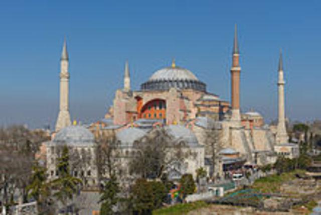 Hagia Sophia is Built