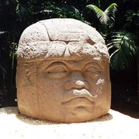 The Olmec Colossal Heads are Built