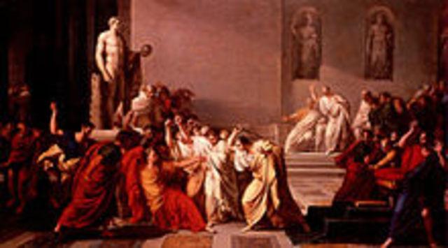 Julius Ceasar Killed