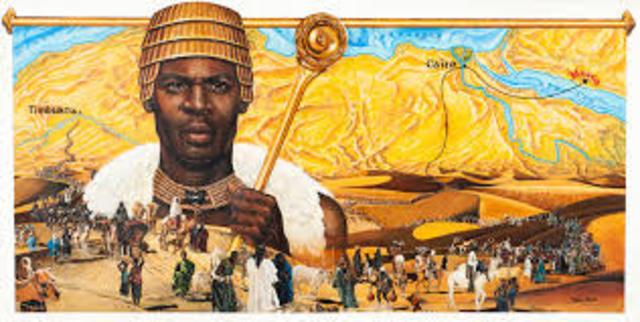 Mansa Musa Makes Pilgrimage to Mecca